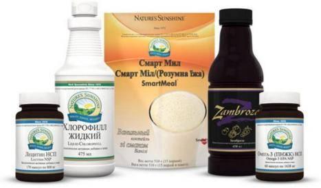 Набор продукции NSP для всей семьи