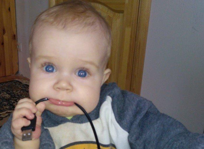 помощь при прорезывании зубов