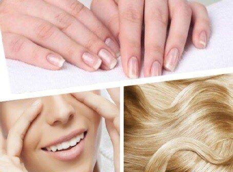 кожа волосы ногти