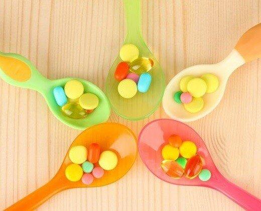 витамины для детей сравнение