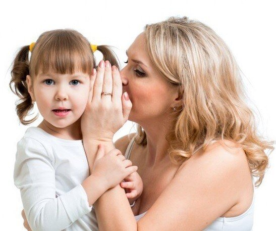воспитание на ушко